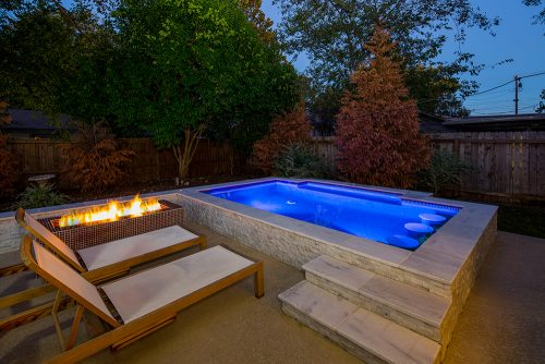 Swimming Pool Fire Features Reliant Pools Austin S Custom Pool Builder